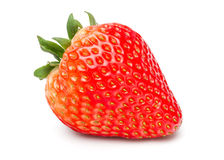 Strawberry. Beautiful Fresh Strawberry  on White Background with Clipping Path Royalty Free Stock Photography
