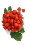 Strawberry. The berries on a plate Stock Photo