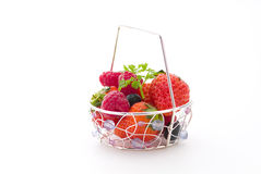 Strawberry and berry Royalty Free Stock Photo