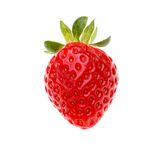 Strawberry berry isolated on white Stock Image