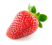 Strawberry berry isolated on white background Stock Images
