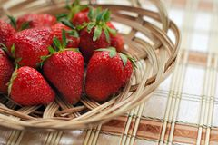 Strawberry, Berry, Red, Bowl Royalty Free Stock Photos
