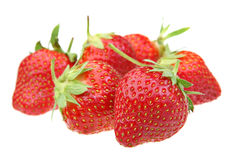 Strawberry berry on white Stock Photography