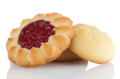 Strawberry biscuit Stock Photos