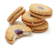 Strawberry Biscuits Royalty Free Stock Image