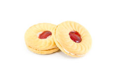 Strawberry Biscuits Royalty Free Stock Photo