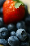 Strawberry and blueberries Royalty Free Stock Photography