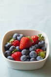 Strawberry and blueberry Royalty Free Stock Image