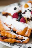 Berry roulade Royalty Free Stock Photo