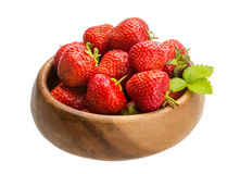 Strawberry in the bowl Royalty Free Stock Image