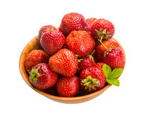 Strawberry in the bowl Royalty Free Stock Images