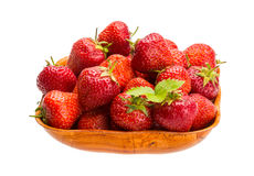 Strawberry in the bowl Royalty Free Stock Photos