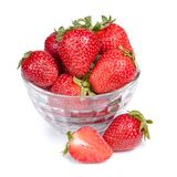 Strawberry in a bowl Stock Photo