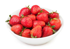 Strawberry bowl Royalty Free Stock Image