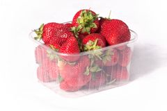Strawberry box Royalty Free Stock Image
