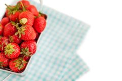 Strawberry in the box Stock Photography