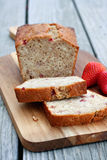 Strawberry Bread Stock Photography