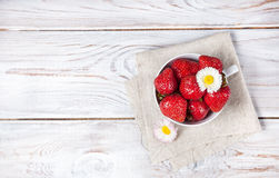 Strawberry breakfast Stock Photography