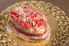 Strawberry bun Stock Images