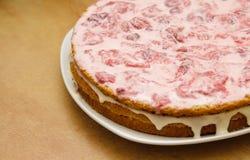 Strawberry Cake Royalty Free Stock Photo