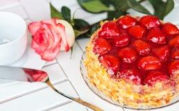 Strawberry cake Royalty Free Stock Photography
