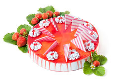 Strawberry cake Royalty Free Stock Image