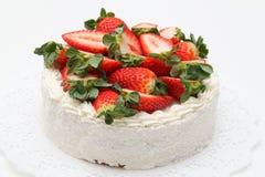 Strawberry cake Stock Photo