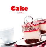 Strawberry cake Royalty Free Stock Images