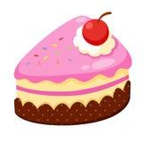 Strawberry Cake  Royalty Free Stock Photos