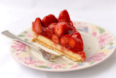 Strawberry cake. stock photography