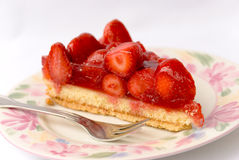 Strawberry cake. 3 Stock Image