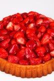 Strawberry cake. With white background Stock Photo