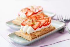 Strawberry cakes Royalty Free Stock Photo
