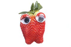 Strawberry cartoon Stock Photo
