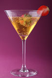Strawberry and champagne Stock Photo