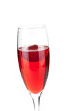 Strawberry Champagne - christmas cocktail Stock Photography