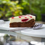 Strawberry cheese cake Royalty Free Stock Photos