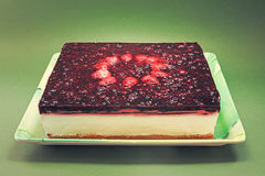 Strawberry Cheese Cake Royalty Free Stock Image