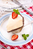 Strawberry cheese cake Stock Photography