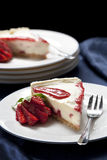 Strawberry Cheesecake Royalty Free Stock Image