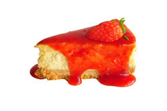 Free Strawberry Cheesecake Royalty Free Stock Images - 41476349