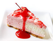 Strawberry Cheesecake Royalty Free Stock Photo