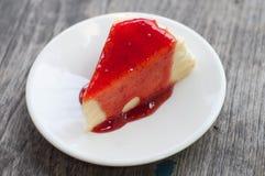 Strawberry cheesecake Royalty Free Stock Image