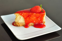 Strawberry cheesecake Stock Image