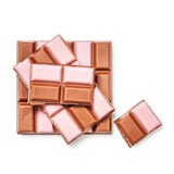 Strawberry chocolate Stock Photography