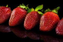 Strawberry. Close up. Stock Photos