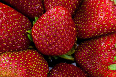 Strawberry. Close up. Royalty Free Stock Photography