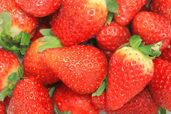 Strawberry close up. The strawberries are full of vit c Stock Image