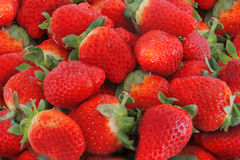 Strawberry close up. The strawberries are full of vit c Royalty Free Stock Photography