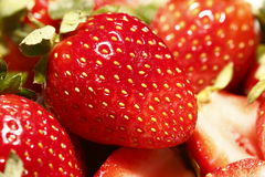 Strawberry close up Royalty Free Stock Image